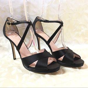 🆕Kate Spade Heels size 11 Black Stiletto Open Toe